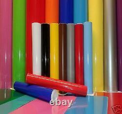 1220mm (4 feet) Wide Sticky Back Plastic Self Adhesive Sign Vinyl Plotter Cutter