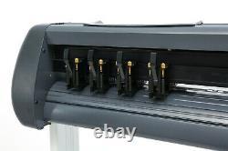 1350MM VINYL CUTTING PLOTTER 54 SIGN CUTTER DIGITAL PRINTING SignMaster software