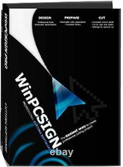 2012 cutting software WINPCSIGN PRO any Vinyl Cutter Plotter UScutter, Graphtec