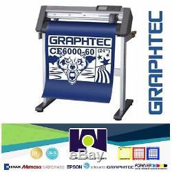 24 Graphtec CE6000-60 PLUS Vinyl Cutter/Plotter FREE DELIVERY