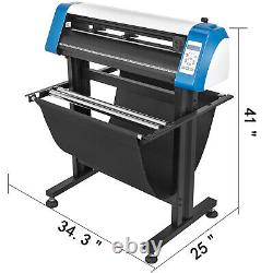 28 Automatic Vinyl Cutter Plotter Cutting Stickers WithPaper Basket Carving