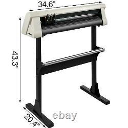 28 Vinyl Cutter Machine 720mm with Stand Vinyl Plotter Cutter Signmaster Cutting