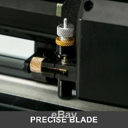 28 Vinyl Cutter Machine With Stand Plotter Adjustable Force & Speed Sign Making