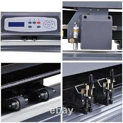 28 Vinyl Cutter Plotter Sticker Cutting LCD Display Adjustable Speed USB Cable