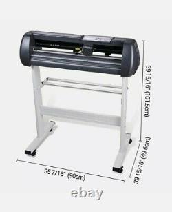 28 Vinyl Cutter Sign Plotter Sticker Cutting & Signmaster Software 3 Blades