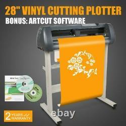 28 Vinyl Cutting Plotter Artcut Software Contour Cutting Parallel Serial USB