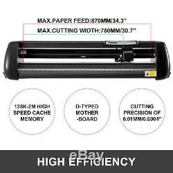 34 Vinyl Cutter Machine With Stand Vinyl Plotter Adjustable Speed Sign Making