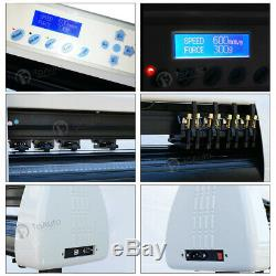 36 LCD Vinyl Cutter Sign Making Plotter Sticker Design Cutting Machine+Software