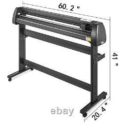 5 in 1 Heat Press 15x15 Vinyl Cutter Plotter 53 Stepper motor T-Shirt
