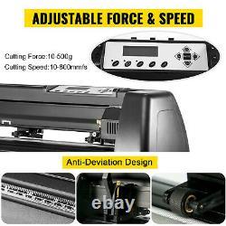 5 in1 Heat Press 12x15 Vinyl Cutter Plotter 53 Graphics Printer Craft Cutter