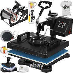 5in1 Heat Press 12x15 Vinyl Cutter Plotter 53 Graphics Printer Sublimation