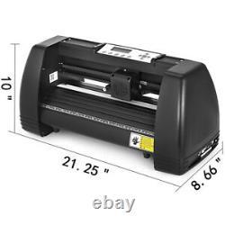 5in1 Heat Press 15x12 14 Vinyl Cutter Plotter Sticker Print Pr
