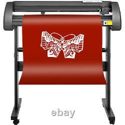 5in1 Heat Press 15x15 Vinyl Cutter Plotter 28 Software 3 Blades Cap Plate