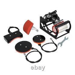 5in1 Heat Press 15x15 Vinyl Cutter Plotter 53 Hat Mug Sublimation Signmaster