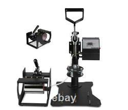 5in1 Heat Press Machine 38x38cm with 375mm Cutting Plotter Vinyl Cutter
