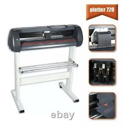 720mm Vinyl Cutter Plotter 28 Cutting With Graphics &Signmaking Software Bundle