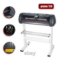 720mm Vinyl Cutter Plotter Machine 28Sign Making Decoration Table Drawing Tools
