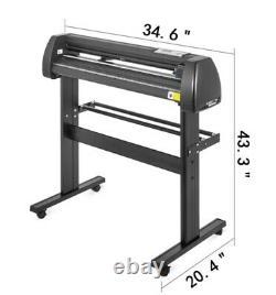 8 In 1 Heat Press 12x15 Vinyl Cutter Plotter 28 Software Sublimation Kit