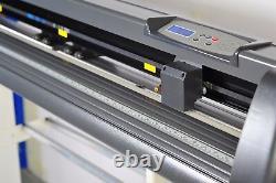 870mm Vinyl Cutter Plotter Cutting 34 inch Sign Making Software USB Craft Cut