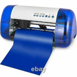 A3 Stickers Cutter Vinyl Cutter Plotter Cutting Machine Contour Cut BLUE