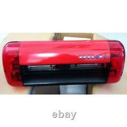 A3 Stickers Cutter Vinyl Cutter Plotter Cutting Machine Contour Cut Function Red