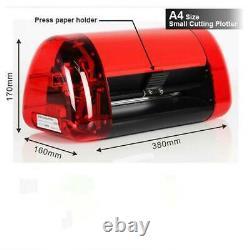 A4 Size Mini Vinyl Cutter Plotter Machine with Contour Cut Function