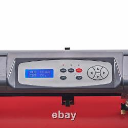 CRENEX 28 Vinyl Cutter/Plotter Sign Cutting Machine Software 3 Blades LCD Black