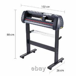CRENEX 28 Vinyl Cutter/Plotter Sign Cutting Machine Software 3 Blades LCD USED