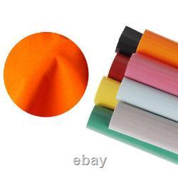 Flock T-Shirt DIY Vinyl HTV Heat Press Vinyl Transfer Cutter Plotter 11 Colors