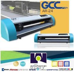 GCC AR-24 Vinyl Cutter Plotter 24 (61 cms) FREE SHIPPING