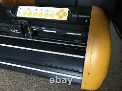 GCC Expert 24 Vinyl Cutter Plotter Needs New Pinch Rollers