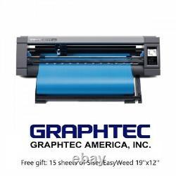 Graphtec CE LITE-50 Desktop Vinyl Cutter 20'' Cutting Plotter Free Vinyl Gift
