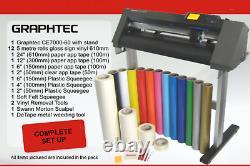 Graphtec CE7000-60 Vinyl Cutter Plotter/T-Shirt Vinyl/Business Pack Set Up
