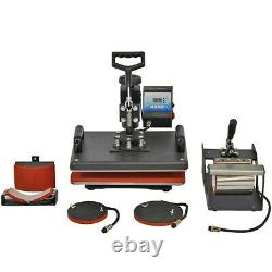 Heat Press 5in1 Combo + Vinyl Cutter Plotter + Printer Sublimation Transfer