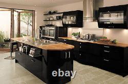 Kitchen Cupboard Doors Units Wall Draws Cover Self Adhesive Fablon Gloss Matt