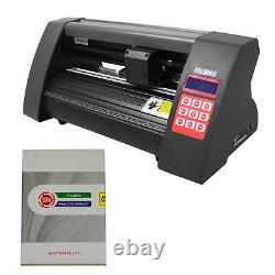 PixMax Plotter de Découpe Vinyle de 52,5cm/20 Pouces & Logiciel FlexiStarter