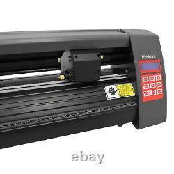 PixMax Plotter de Découpe Vinyle de 52,5cm/20 Pouces avec Logiciel SignCut Pro