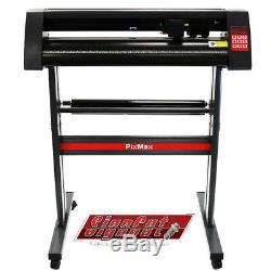 PixMax Vinyle plotter de découpe machine pour vinyle de 720mm & logiciel SignCut