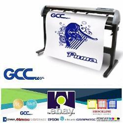 Plotter De Corte De Vinilos GCC Puma IV P4-132 52 (132 Cms) Despacho Gratuito