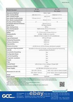 Plotter De Corte De Vinilos GCC Puma IV P4-60LX 24 (61 Cms) Despacho Gratuito