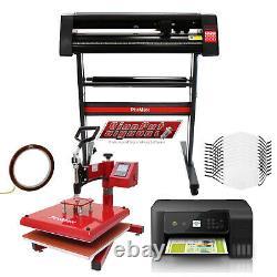 Presse à Chaud, Imprimante EcoTank Plotter de Découpe Vinyle logiciel et plus
