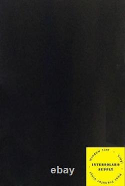Roll Black Glossy Vinyl 24 x 50 yards (150 Feet) Plotter Interflex