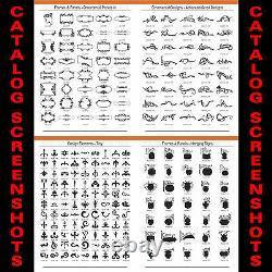 Sign Clipart-vinyl Cutter Plotter Images-eps Vector Clip Art Graphics CD