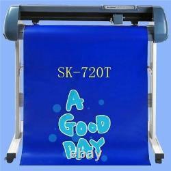 Sign Sticker 28 720Mm Cutting Plotter+Artcut SK720T Ce Certificate New Vinyl tc