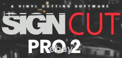 SignCut Pro 2 Year Subscription Renewal Sign making, Cutter Plotters