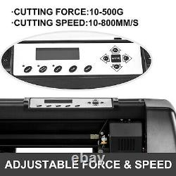 Stickers Vinyl Cutter Plotter FREE Software Machine Contour Cut Function New