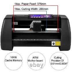 VEVOR 14 Vinyl Cutter Plotter 375mm Vinyl Signmaster Cutting Offline Control
