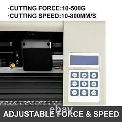 VEVOR 28 Vinyl Cutter Plotter Cutting Machine 720mm with Stand Signmaster Cutting