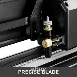 VEVOR 28 Vinyl Plotter Cutter 720mm with Stand Black Blue Signmaster Cutting