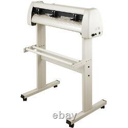 VEVOR 28 Vinyl Plotter Cutter 720mm with Stand White Signmaster Cutting